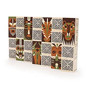 Uncle Goose Swahili Blocks - Made in USA