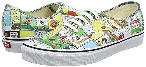Vans X Peanuts Authentic Comics Unisex Formateurs
