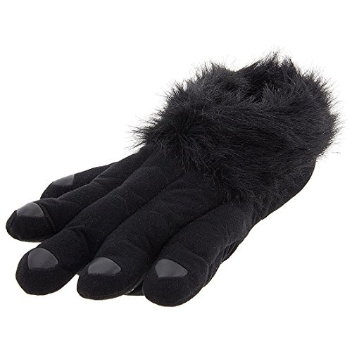 Gorilla Paw Slippers for Women and Men Large