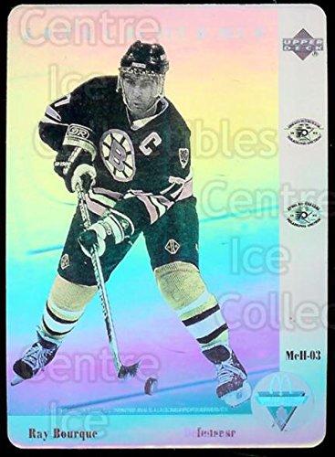 ((CI) Ray Bourque Hockey Card 1991-92 McDonalds Upper Deck Hologram 3 Ray Bourque)