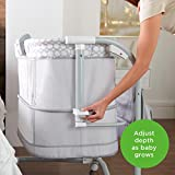 Ingenuity Dream & Grow Bedside Bassinet Fitted