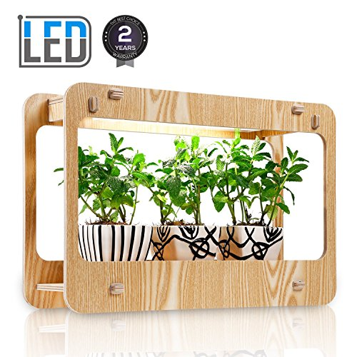 Indoor Herb Garden Kit Grow Light in US - 3
