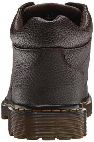 Pelle Air Lavoro Dark Dr Harrisfield Brown Wair Martens Da Scarponi fOnwvg1q