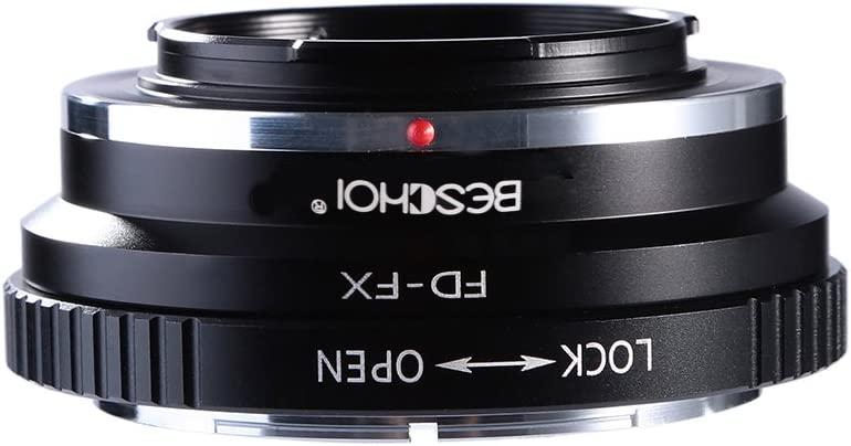 NEX-C3 NEX-7 FD to NEX Lens Adapter Fits Sony NEX-3 NEX-5N Beschoi Lens Mount Adapter for Canon FD /& FL SLR Lens to Sony Alpha NEX E-Mount Mirrorless Camera Body NEX-5