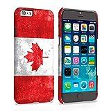 Caseflex iPhone 6 / 6S Case Retro Canada Flag Hard Cover