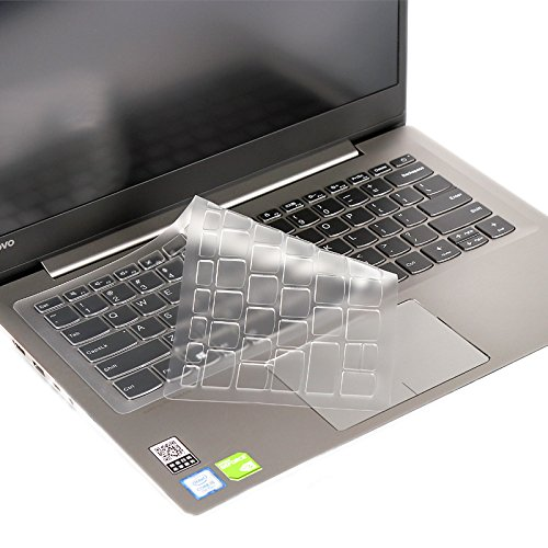 Bodu Clear Keyboard Cover TPU Protective Sticker Skin for Lenovo 7000-14, Ideapad 320-14, 320s-14,120s-14,Yoga 720-15 Laptop