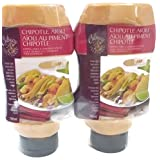 Culinary Treasures Chipotle Aioli Dipping Sauce & Sandwich Spread (2 Pack)