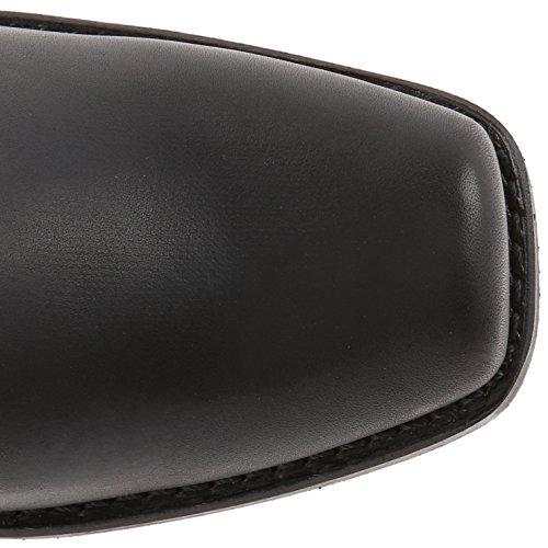 Frye Harness 8R - Botas de piel para mujer, color negro, talla 42