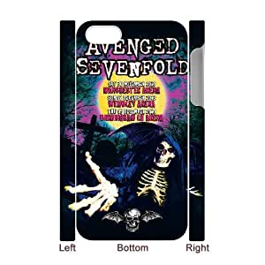 Avenged Sevenfold theme pattern design For Apple iPhone 4,4S(3D) Phone Case