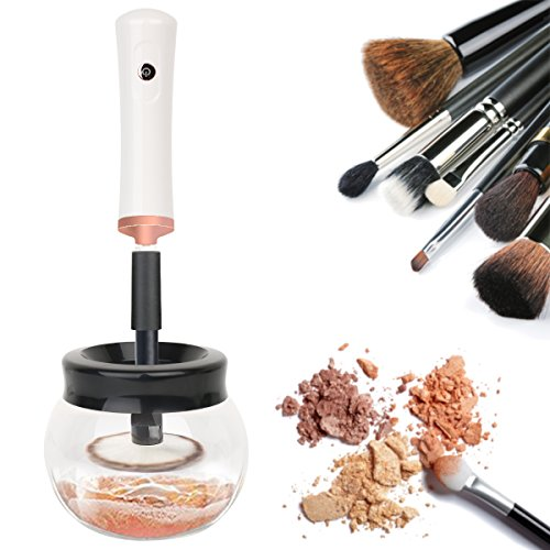 Makeup Brush Cleaner, INKERSCOOP Electric Makeu...