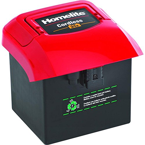Homelite 24 Volt Replacement Cordless Battery for Electric Lawn Mower