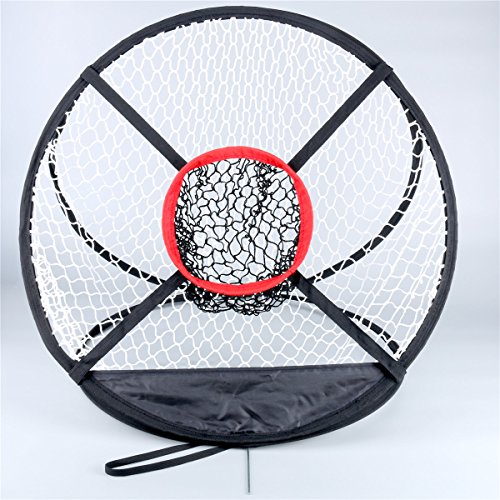 8milelake Golf Training Chipping Net Hitting Aid Practice Indoor Outdoor Bag, Perfect for Golf Training