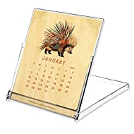 Night Owl Paper Goods Dolan Geiman 2018 Real Wood Desk Calendar
