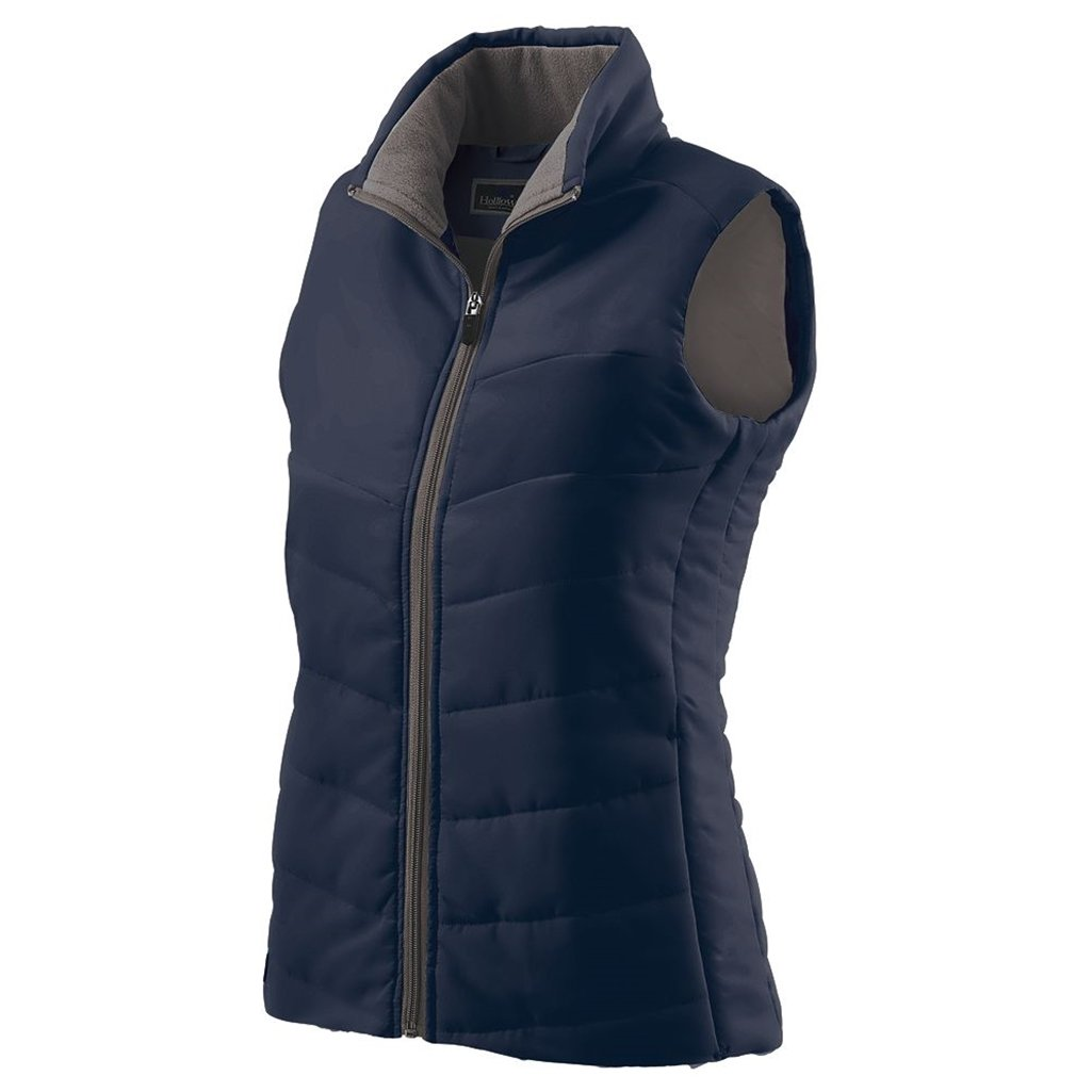 Holloway Ladies Admire Lightweight Vest (Large, Navy) by Holloway