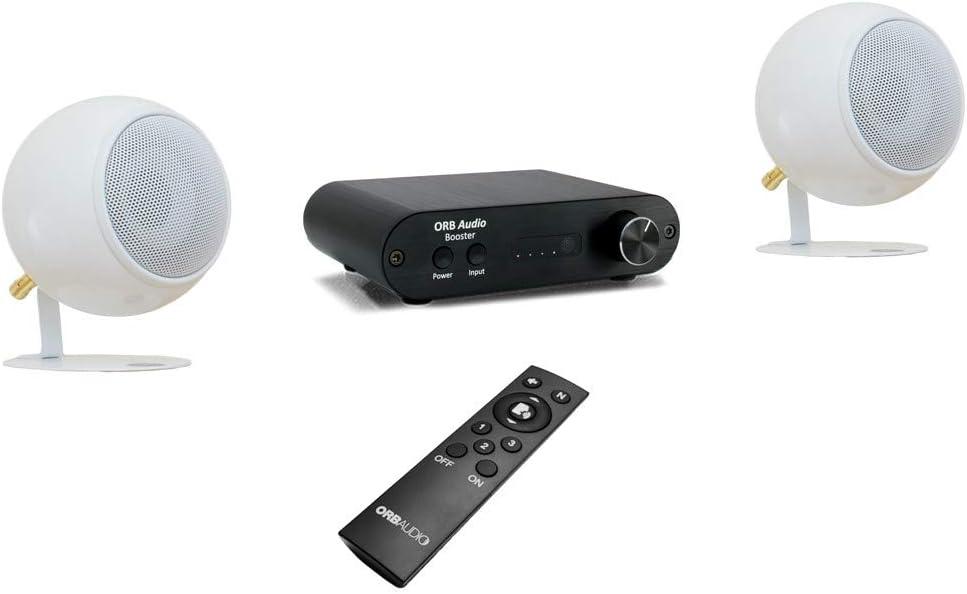Orb Audio: EZ Voice TV Speakers with Remote Control and Bluetooth - Enhances Dialogue - Soundbar Alternative