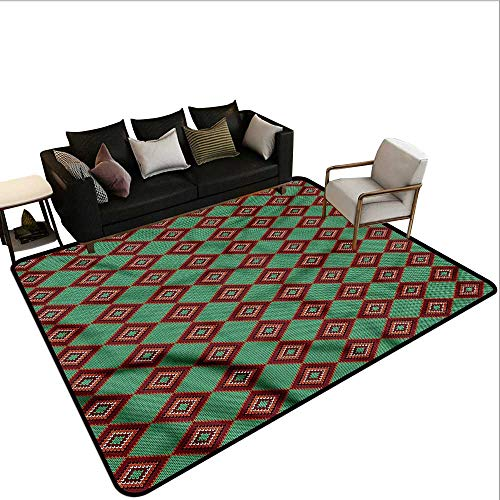 - Ethnic,Dining Table Rugs 80
