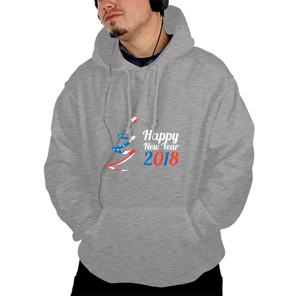 PANGERA Mens Womens Hooded Sweatshirt Realistic 3D Print Merry Christmas Pullover Hoodie with Big Pockets