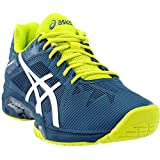 ASICS E600N Men's Gel-Solution Speed 3 Tennis Shoe, Ink Blue/White/Sulphur Springs - 10.5 D (M) US