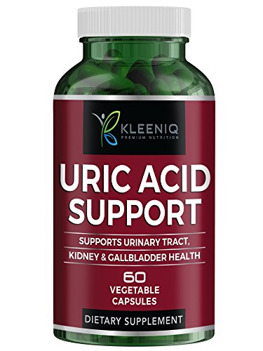 KLEENIQ ® Uric Acid Support – Supports Normal Kidney Function & Uric Acid Levels – with Citric Acid, Celery, Tart Cherry, Green Coffee Bean, Milk Thistle, Pomegranate, Turmeric and More For Sale