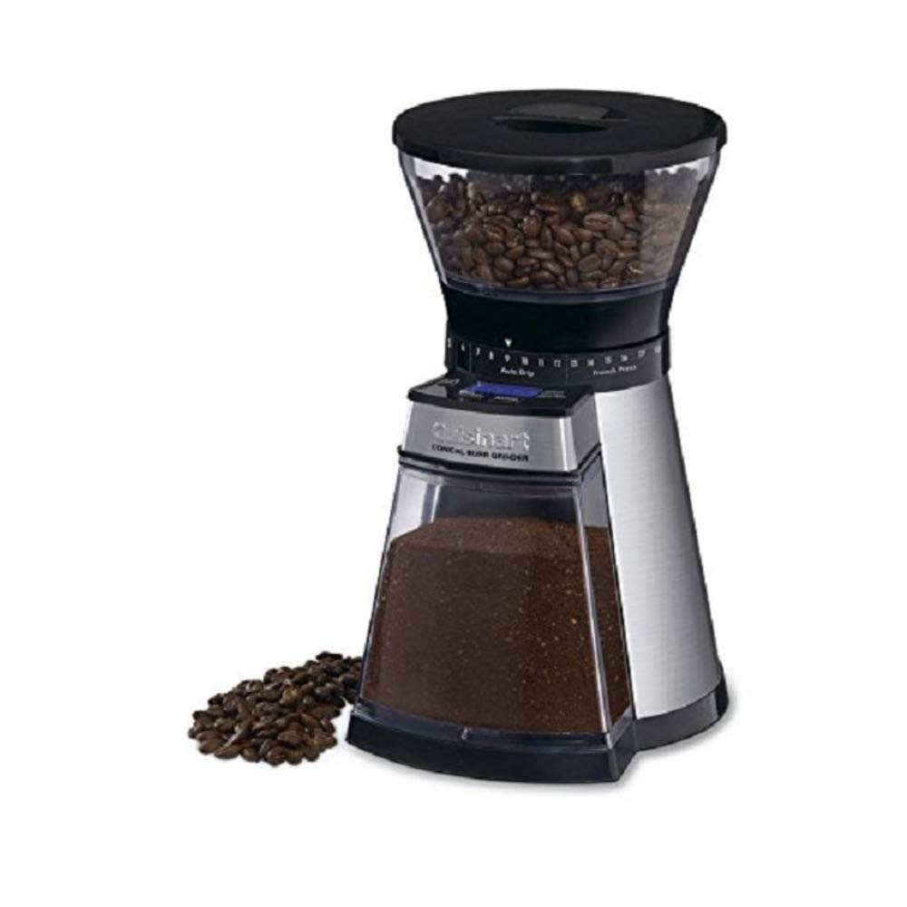 Cuisinart CBM-18 Programmable Conical Burr Urnex Grindz Coffee Grinder by Cuisinart