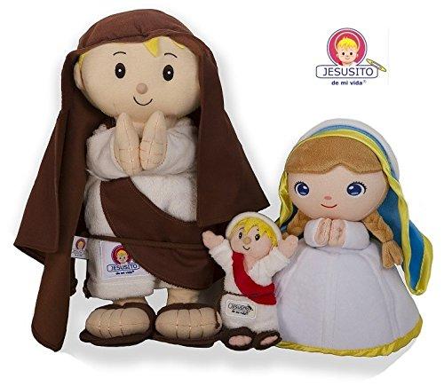 Amazon.com: Saint Joseph Plush toy - Peluche San José 30 cm. (Ref. 4001): Toys & Games