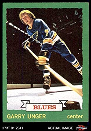 Amazon.com  1973 Topps   15 Garry Unger St. Louis Blues (Hockey Card ... f9cae19ba