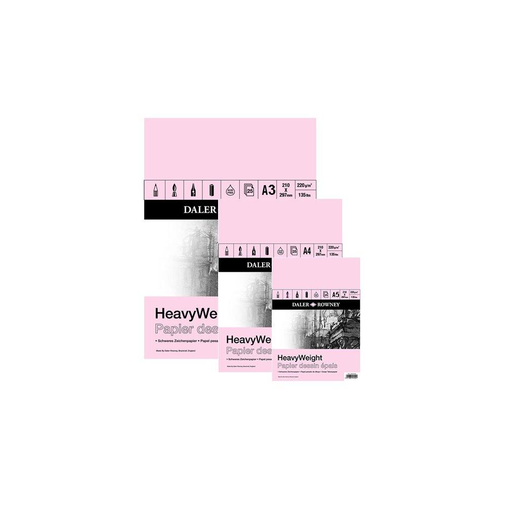 HeavyWeight Cartridge Gummed Pad A2
