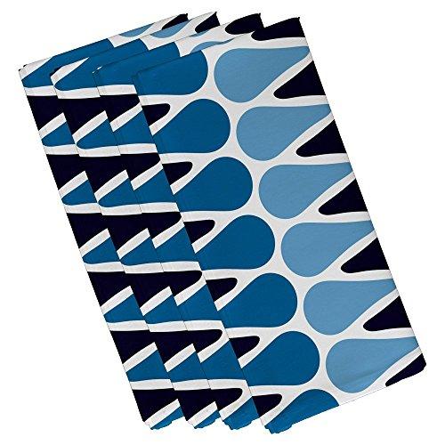 picks geometric print napkin
