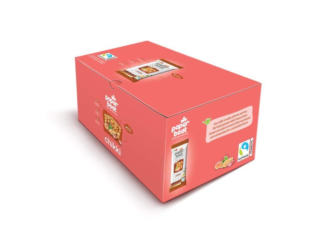 Paper Boat Peanut Chikki, 30 Units x 28 g