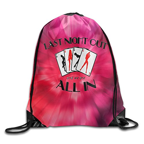 BACKPACK Daypack Last Night Out - And We Are All In Polyester Beam Mouth Backpack