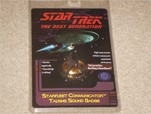 star trek the next generation starfleet communicator talking sound