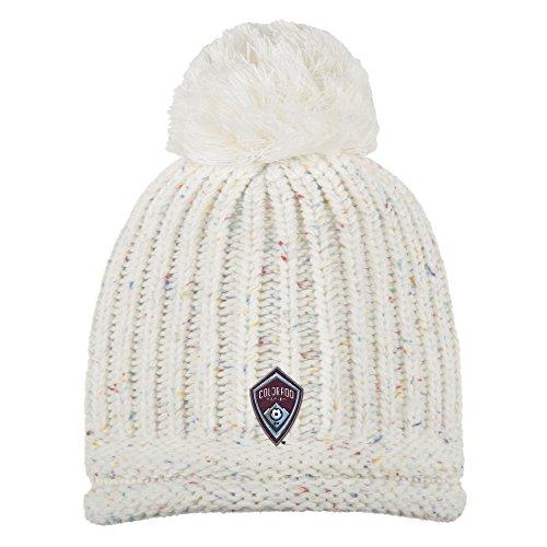 fan products of MLS Colorado Rapids Adult Women Fashion Yarn Cuffless Knit, One Size, Beige
