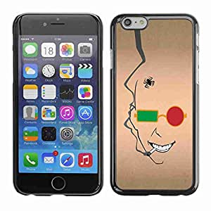 """Planetar® ( Abstract Face ) Fundas Cover Cubre Hard Case Cover 5.5"""" iPhone 6 Plus"""