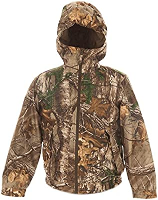 fca790f3cea3a AOO Youth Insulated Waterproof Hunting Jacket Realtree Xtra Camo (X-Large)