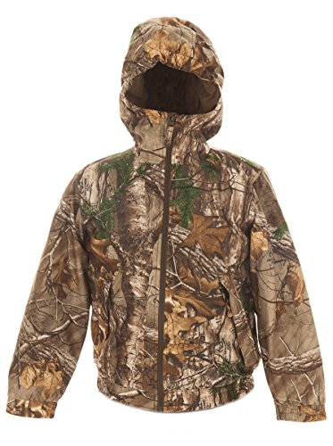 Youth Insulated Waterproof Hunting Jacket Realtree Xtra Camo - Clothes Youth Hunting