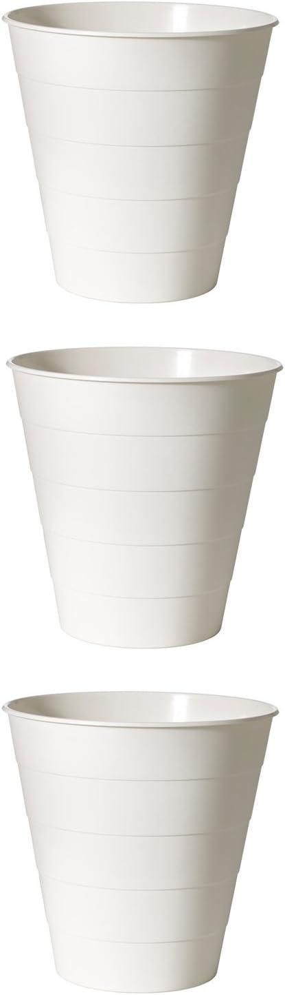 Ikea fniss-cestino Trash can Bin bianco 602.954.39/set di 3/bidoni