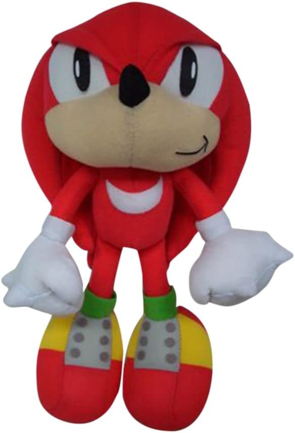 Amazon Com Great Eastern Ge Animation Sonic Classic Knuckles Plush Red 9 Toys Games