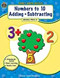 img - for Early Math Skills: Numbers to 10- Adding-Subtracting, Grades PreK-K book / textbook / text book