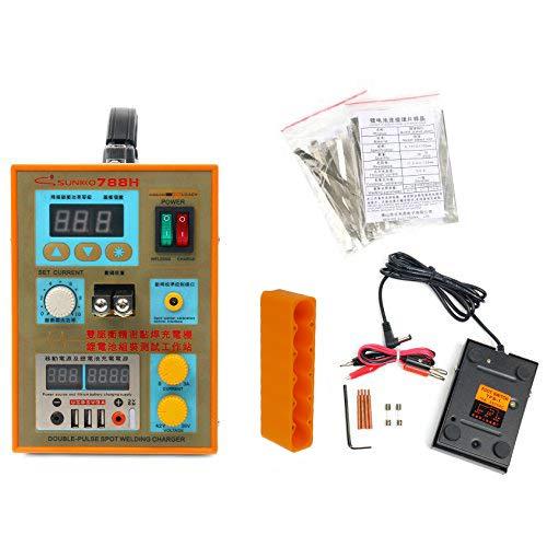 SUNKKO S788H-USB Precision Pulse Spot Welder +CC-CV Charge+Power Bank Test