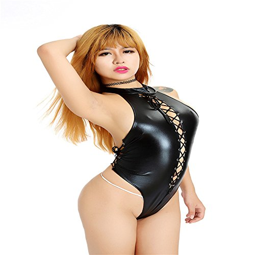 [Women Bodysuit Clubwear Stripper Costumes] (Plus Size Ring Mistress Costumes)