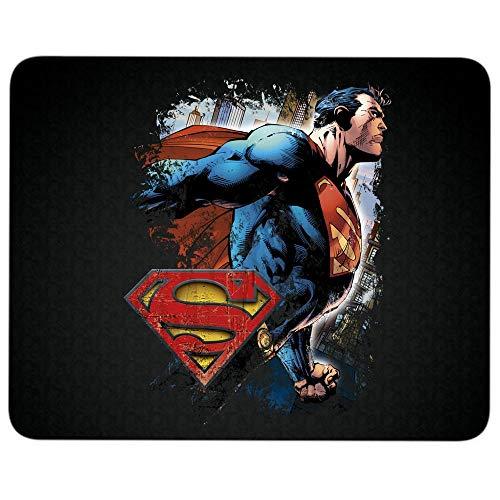 I Love Superman Return Non-Slip Rubber Base Mousepad for Laptop, Computer & PC, Superman Logo Mouse Pad(Mouse Pad - Black)