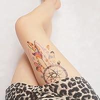COKOHAPPY Grande Temporales Tatuaje Indio Atrapasueños Pluma ...