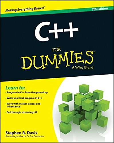 C++ For Dummies [Stephen R. Davis] (Tapa Blanda)