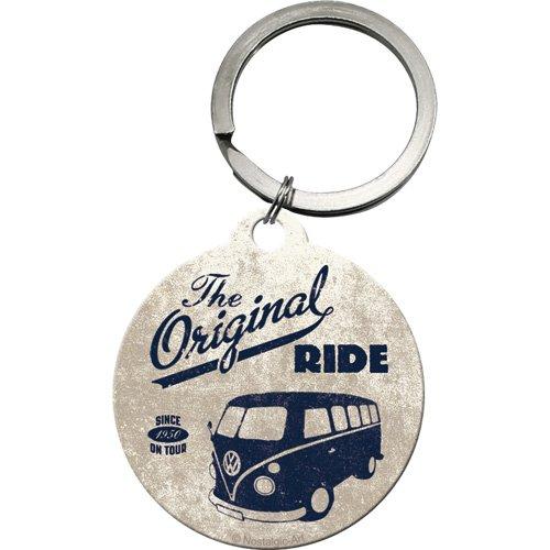 Nostalgic Art 48002 Volkswagen VW Bulli - The Ride originale, Rotondo, 4 cm