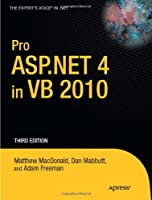Pro ASP.NET 4 in VB 2010, 3rd Edition Front Cover