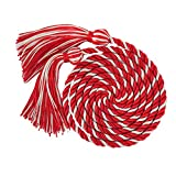 "GraduationMall Graduation Honor Cord 68"" Redwhite"