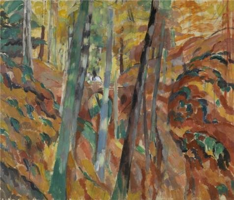 [Oil Painting 'Rik Wouters - The Ravine, 1913' Printing On Perfect Effect Canvas , 20x23 Inch / 51x59 Cm ,the Best Study Gallery Art And Home Decor And Gifts Is This High Resolution Art Decorative Prints On] (Deluxe Pink Gorilla Costumes)