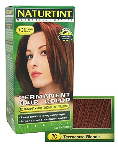 NATURTINT HAIR COLOR,7C,TERACOTA BL, 5.28 FZ by Naturtint