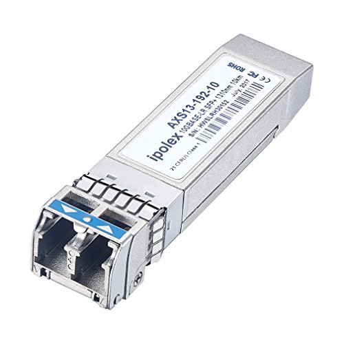 ipolex for Intel E10GSFPLR SFP+ 10GBase-LR Transceiver Module (SMF, 1310nm, 10KM, LC, DDM) by ipolex