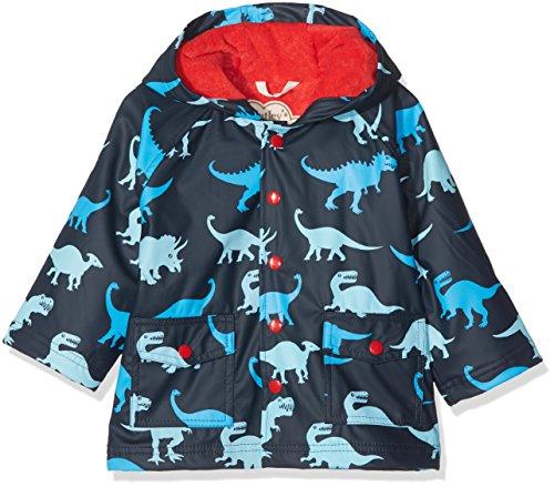 Hatley Little Boys' Printed Raincoats, Lots Of Dinos, 8